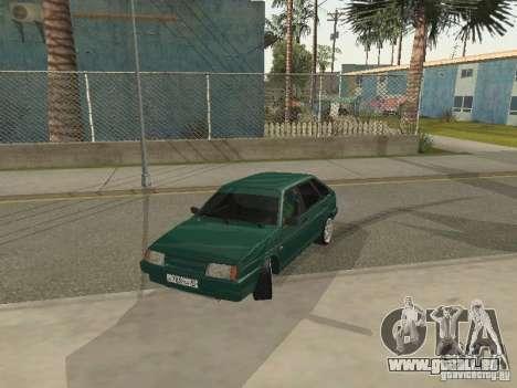 VAZ 21093 Tuning pour GTA San Andreas laissé vue