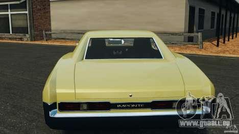 New Dukes pour GTA 4 est une vue de dessous