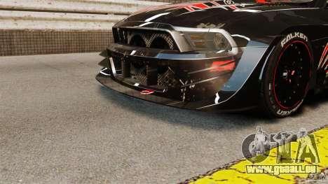 Ford Mustang 2010 GT1 pour GTA 4 est une gauche