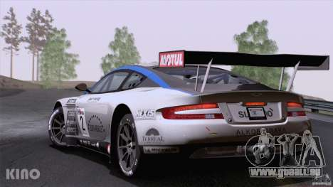 Aston Martin Racing DBRS9 GT3 für GTA San Andreas linke Ansicht