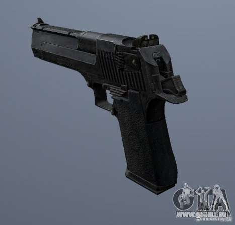Desert Eagle - New model pour GTA San Andreas