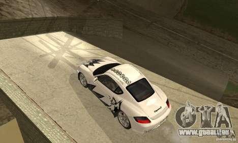 Porsche Cayman S pour GTA San Andreas moteur