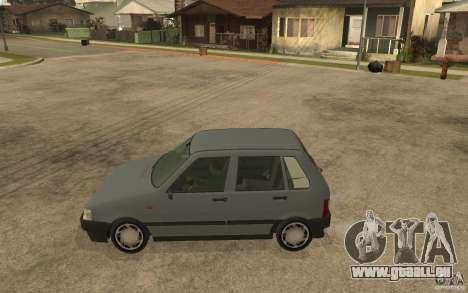 Fiat Uno 70s pour GTA San Andreas laissé vue