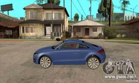 Audi TT 2007 pour GTA San Andreas laissé vue