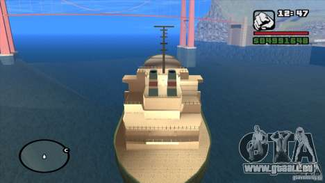 Schiffe für GTA San Andreas