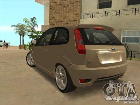 Ford Fiesta ST für GTA San Andreas linke Ansicht