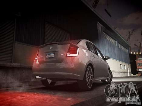 Nissan Sentra SE-R Spec V pour GTA 4 Vue arrière de la gauche
