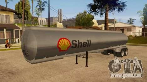 Auflieger tank für GTA San Andreas