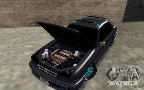 Mitsubishi Galant pour GTA San Andreas vue arrière