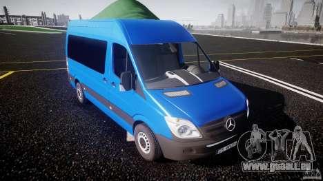 Mercedes-Benz ASM Sprinter Ambulance pour GTA 4 est une vue de l'intérieur