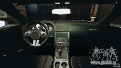 Dodge Challenger SRT8 392 2012 für GTA 4 Rückansicht