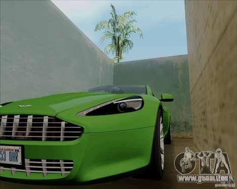 Aston Martin Rapide 2010 V1.0 für GTA San Andreas Unteransicht