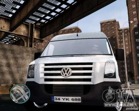 Volkswagen Crafter Turkish Schoolbus für GTA 4 Rückansicht