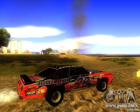 Bonecracker de FlatOut 1 pour GTA San Andreas vue de droite