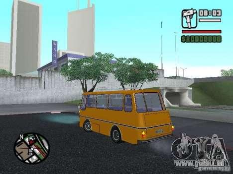 TV 7 pour GTA San Andreas laissé vue