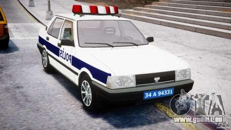 Tofas Sahin Turkish Police v1.0 pour GTA 4 est un droit