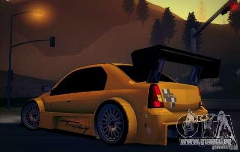 Dacia Logan Trophy Edition 2005 für GTA San Andreas rechten Ansicht
