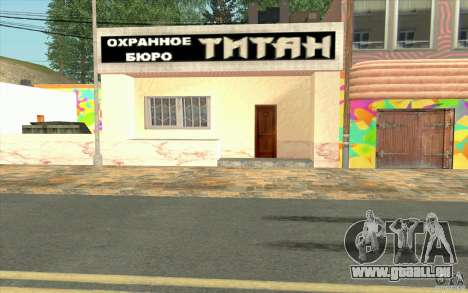Un nouveau village Dillimur pour GTA San Andreas douzième écran