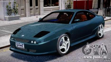 Fiat Coupe 2000 für GTA 4 linke Ansicht