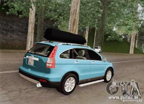 Honda CRV 2011 für GTA San Andreas Rückansicht