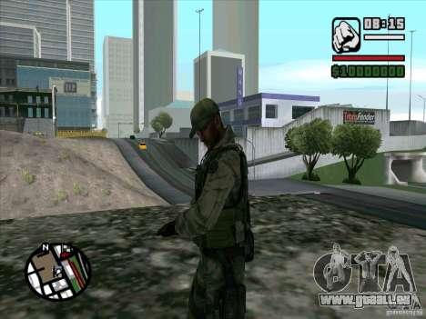 Dave de Resident Evil pour GTA San Andreas deuxième écran