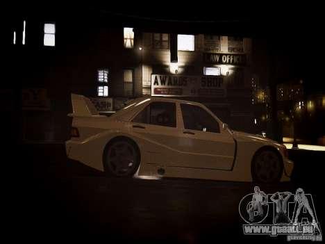 Mercedes 190E Evo2 pour GTA 4 est un droit