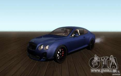 Bentley Continental SS pour GTA San Andreas
