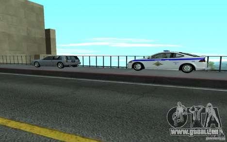 Polizei auf der Brücke von San Fiero_v. 2 für GTA San Andreas her Screenshot