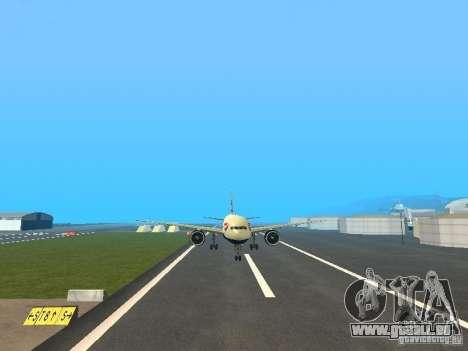 Boeing 777-200 British Airways pour GTA San Andreas vue arrière