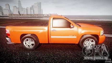 Chevrolet Silverado 2011 pour GTA 4 est un côté