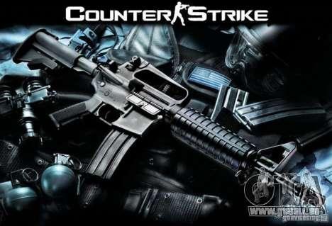 Armes de Counter Strike pour GTA San Andreas