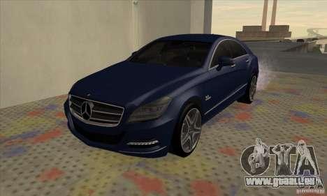 Mercedes-Benz CLS63 AMG 2012 pour GTA San Andreas