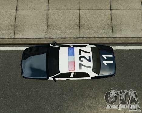 Ford Crown Victoria LAPD pour GTA 4 Vue arrière