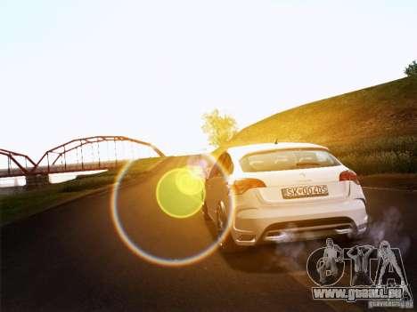Citroën DS4 pour GTA San Andreas laissé vue