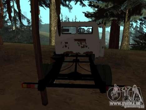 Une Gazelle pour GTA San Andreas quatrième écran
