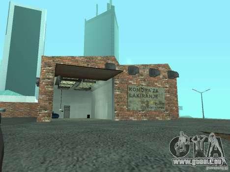 IMW Old Zastava Car Showroom pour GTA San Andreas cinquième écran