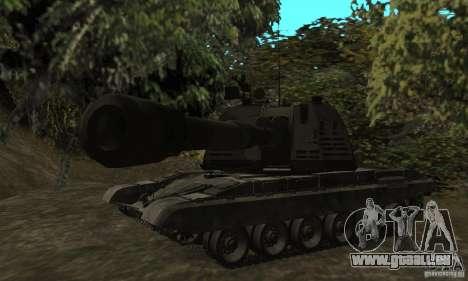 Msta-s 2s19, version hiver pour GTA San Andreas