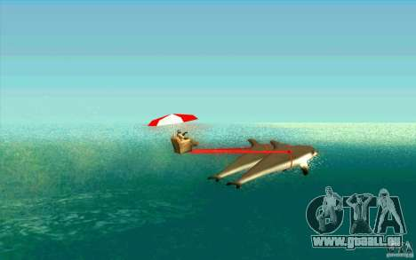 FlexyDolphin für GTA San Andreas linke Ansicht