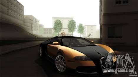 Bugatti Veyron 16.4 für GTA San Andreas Seitenansicht