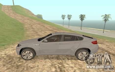 BMW X6M für GTA San Andreas Seitenansicht