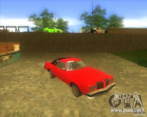 Oldsmobile Cutlass Supreme 1976 für GTA San Andreas