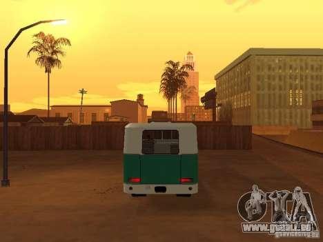 Kuban G1A1 pour GTA San Andreas vue intérieure