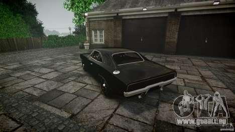 Dodge Charger RT 1969 für GTA 4 Unteransicht