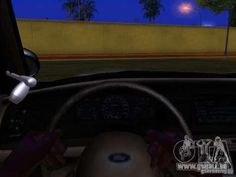 Ford Crown Victoria San Andreas State Patrol pour GTA San Andreas salon
