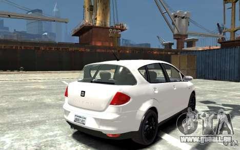 Seat Toledo für GTA 4 rechte Ansicht