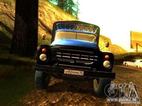 ZIL 431410 für GTA San Andreas Rückansicht