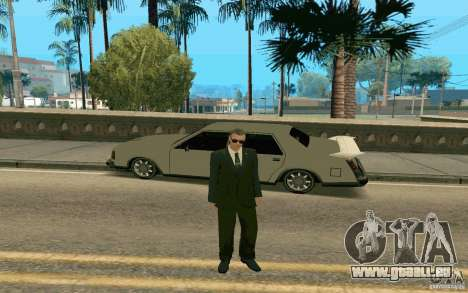 Black MIB pour GTA San Andreas