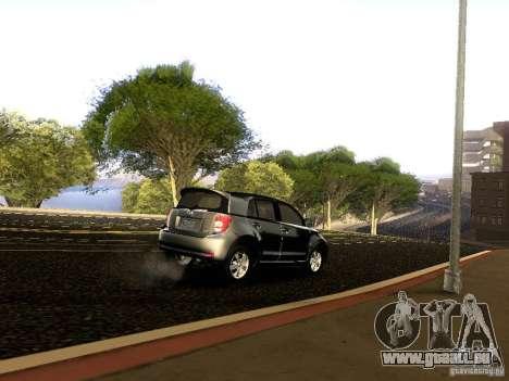 Scion xD pour GTA San Andreas vue de dessous