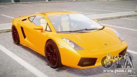 Lamborghini Gallardo Superleggera pour GTA 4 est une gauche