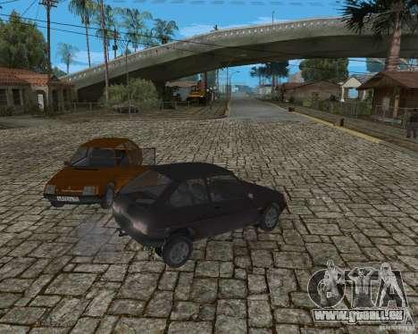 ZAZ Tavria 1102 pour GTA San Andreas vue arrière